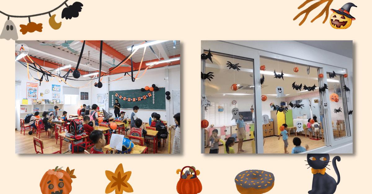 Cách Trang Trí Halloween Cho Lớp Học Siêu Độc Đáo