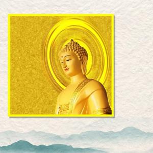 Tranh Treo Tường Phật Từ Bi