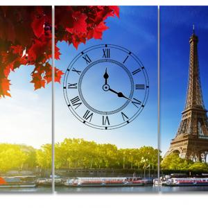 Tranh Đồng Hồ Thành Phố Paris