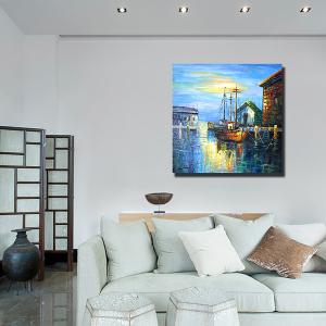 Tranh Treo Tường Phong Cảnh Thuyền Và Biển