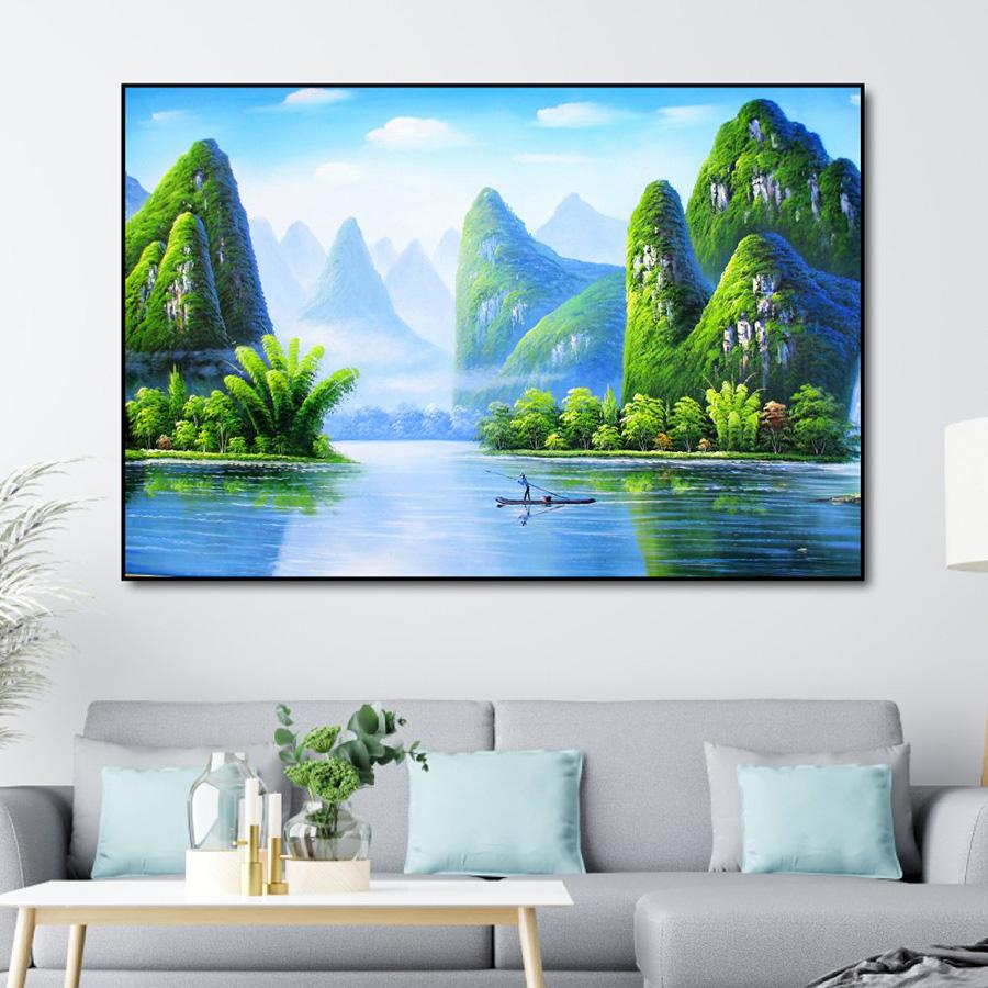 """Tranh """"Sơn Thủy Hữu Tình"""""""