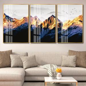 Tranh Treo Tường Phong Cảnh Núi Hùng Vĩ