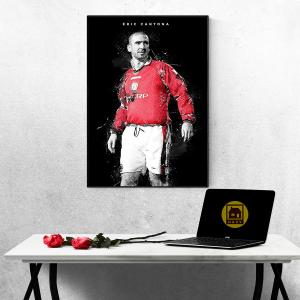 Tranh Treo Tường Huấn Luyện Viên Eric Cantona Mẫu 02