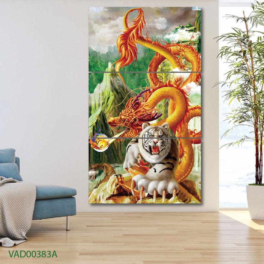 """Tranh  """"Rồng và Hổ"""""""
