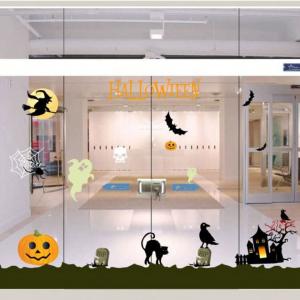 Combo Decal Trang Trí Halloween Rùng Rợn 10