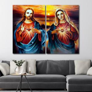 Tranh Treo Tường Chúa Giêsu Và Đức Mẹ