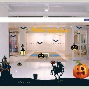 Combo Decal Trang Trí Halloween Rùng Rợn 13