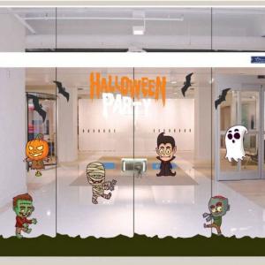 Combo Decal Trang Trí Halloween Rùng Rợn 9