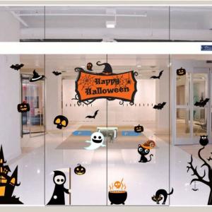 Combo Decal Trang Trí Halloween Rùng Rợn 5