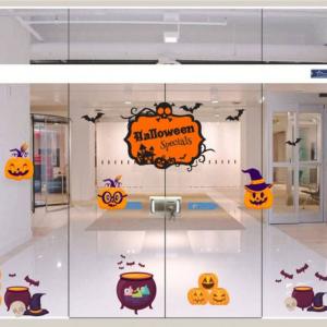 Combo Decal Trang Trí Halloween Rùng Rợn 6