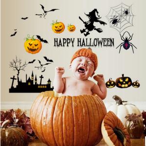 Decal Dán Tường Halloween 1
