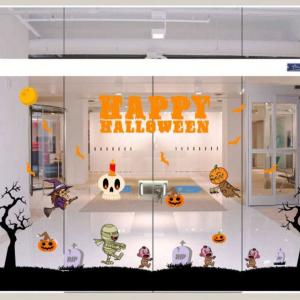 Combo Decal Trang Trí Halloween Rùng Rợn 12