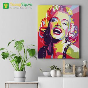 Tranh Treo Tường Phong Cách Pop Art Marilyn Monroe