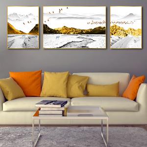 Tranh Treo Tường Sói Và Núi Tuyết