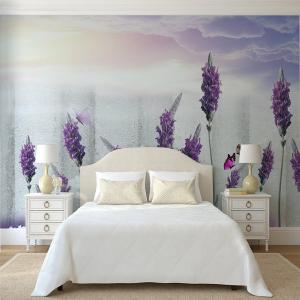 Tranh Dán Tường Hoa Lavender