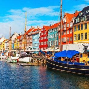Tranh Dán Tường Bến Cảng Nyhavn