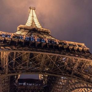 Tranh Dán Tường Tháp Eiffel Ở Thành Phố Paris