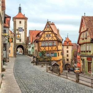 Tranh Dán Tường Con Đường Lãng Mạn Của Đức