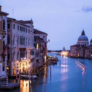 Tranh Dán Tường Nét Đẹp Hoàng Hôn Trên Kênh Đào Venice 2