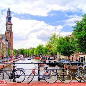 Tranh Dán Tường Vẻ Đẹp Nhà Thờ Cải Cách Westerkerk