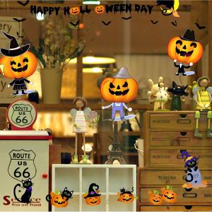 Decal Trang Trí Halloween Bí Đỏ Vui Vẻ