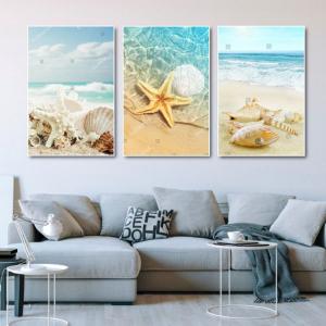 Tranh Canvas Treo Tường Vỏ Ốc Đại Dương 2