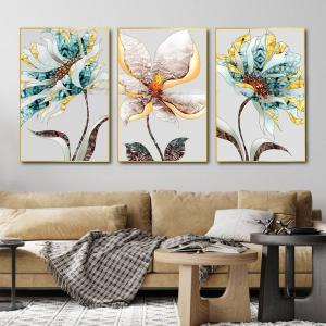 Tranh Canvas Treo Tường Nghệ Thuật Hoa Sắc Màu