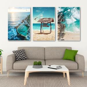 Tranh Canvas Treo Tường Phong Cảnh Biển 8