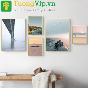 Tranh Treo Tường Phong Cảnh Biển 4