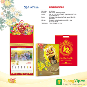 Lịch 52 Tuần 2022 (31x41cm) - Phong Cảnh Thế Giới - TV23