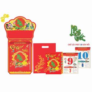 Lịch Bloc Đại Đặc Biệt 2022 (16x24cm) - Lộc Phát Trường Hưng - HTV16